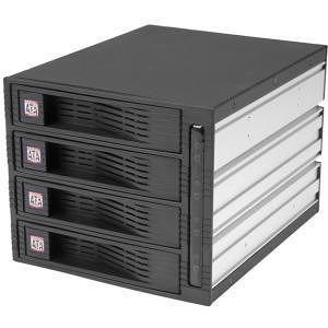 StarTech HSB430SATBK 4 Drive 3.5in Trayless SATA Mobile Rack