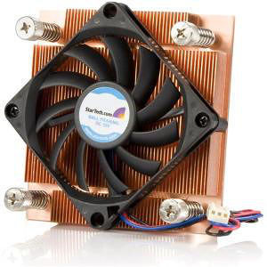 StarTech FAN7751U 1U Low Profile 70mm Socket 775 CPU Cooler Fan w/ Heatsink & TX3