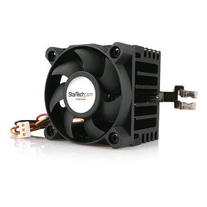 StarTech FANP1003LD 50x50x41mm Socket 7/370 CPU Cooler Fan w/ Heatsink and TX3 and LP4