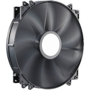 Cooler Master R4-MFJR-07FK-R1 MegaFlow 200 - Sleeve Bearing 200mm Silent Fan (Black)