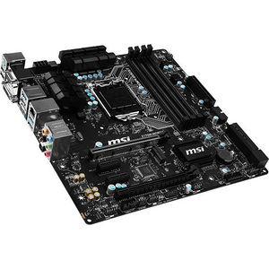 MSI Z170M MORTAR Desktop Motherboard - Intel Chipset - Socket H4 LGA-1151