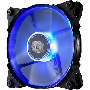 Cooler Master R4-JFDP-20PB-R1 JetFlo 120 - POM Bearing 120mm Blue LED High Performance Silent Fan
