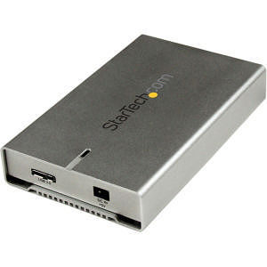 "StarTech S2510SM12U33 2.5"" External Hard Drive Enclosure - Supports UASP - Aluminum - up to 12.5mm"