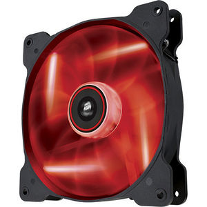 Corsair CO-9050017-RLED Air Series AF140 LED Red Quiet Edition High Airflow 140mm Fan