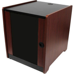 StarTech RKWOODCAB12 12U Rack Enclosure Server Cabinet - 20.6 in. Deep - Wood Finish - Flat Pack