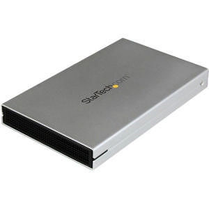 "StarTech S251SMU33EP 2.5"" External Hard Drive Enclosure - Supports UASP - eSATAp or USB 3.0"
