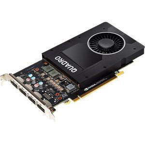 PNY VCQP2000-PB Quadro P2000 Graphic Card - 5 GB GDDR5 - PCI-E 3.0 x16 - Full-height - Single Slot