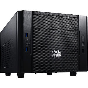 Cooler Master RC-130-KKN1 Elite 130 Mini-ITX Computer Case, Mesh Front Panel, Water Cooling Support