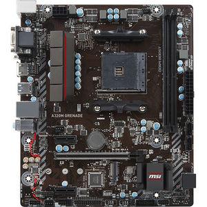 MSI A320M GRENADE Desktop Motherboard - AMD Chipset - Socket AM4
