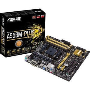 ASUS A55BM-PLUS/CSM Desktop Motherboard - AMD Chipset - Socket FM2+