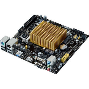 ASUS J1900I-C Desktop Motherboard - Intel Chipset - Socket BGA-1170 - Intel Celeron J1900 Quad-core