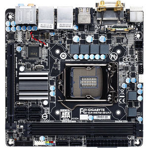 GIGABYTE GA-H97N-WIFI Desktop Motherboard - Intel H97 Express Chipset - Socket H3 LGA-1150
