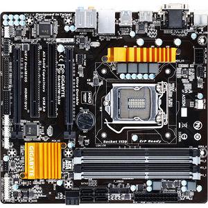 GIGABYTE GA-H97M-D3H Desktop Motherboard - Intel H97 Express Chipset - Socket H3 LGA-1150