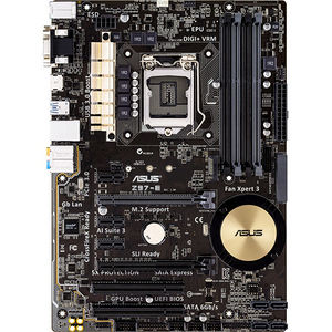 ASUS Z97-E Desktop Motherboard - Intel Chipset - Socket H3 LGA-1150
