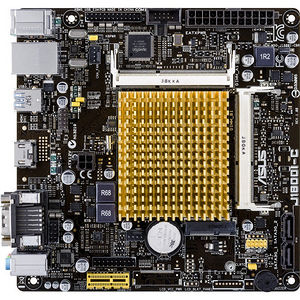 ASUS J1800I-C/C/SI Desktop Motherboard - Intel Chipset - Intel Celeron J1800 2 Core - Bulk