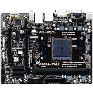 GIGABYTE GA-F2A68HM-HD2 Ultra Durable 4 Plus Desktop Motherboard - AMD A68 Chipset - Socket FM2+
