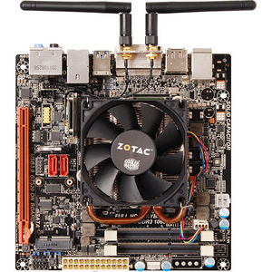 ZOTAC D2700ITXS-A-E Desktop Motherboard - NM10 Express Chipset - Intel Atom D2700 2 Core 2.13 GHz