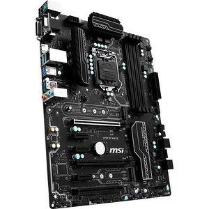 MSI Z270 PC MATE Desktop Motherboard - Intel Chipset - Socket H4 LGA-1151
