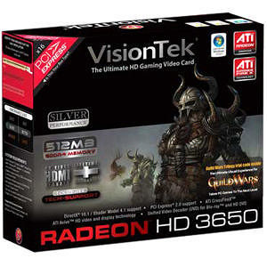 VisionTek 900232 Radeon HD 3650 Graphics Card