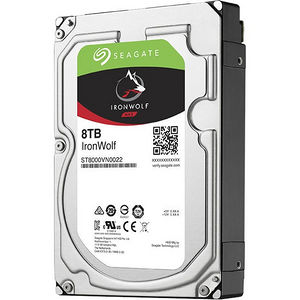 "Seagate ST8000VN0022 IronWolf 8 TB 3.5"" Internal Hard Drive - SATA"