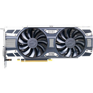 EVGA 08G-P4-6583-KR GeForce GTX 1080 Graphic Card - 1.71 GHz Core - 8 GB GDDR5X - Dual Slot