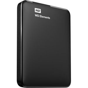 "WD WDBUZG0010BBK-EESN Elements 1 TB 2.5"" External Hard Drive"