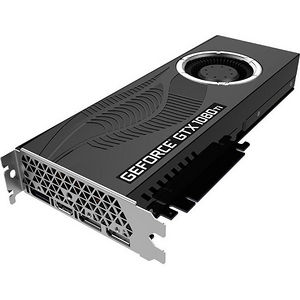 PNY VCGGTX1080T11PB-CG GeForce GTX 1080 Ti Graphic Card - 1.58 GHz Boost Clock - 11 GB GDDR5X