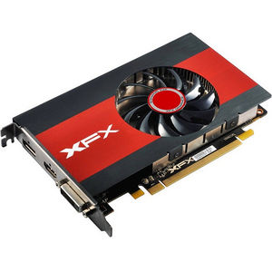 XFX RX-550P4TFG5 Radeon RX 550 Graphic Card - 1.20 GHz Core - 4 GB GDDR5 - Single Slot