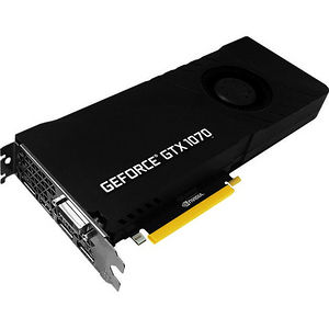 PNY VCGGTX10708PB GeForce GTX 1070 Graphic Card - 1.51 GHz Core - 8 GB GDDR5 - Dual Slot