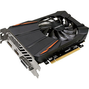 GIGABYTE GV-RX550D5-2GD Radeon RX 550 Graphic Card - 1 GPUs - 1.18 GHz Core - 2 GB GDDR5