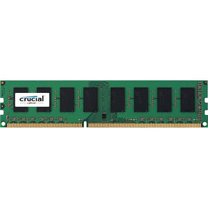 Crucial CT51264BD186DJ 4GB DDR3 PC3-14900 Unbuffered NON-ECC 1.35V 512Meg x 64