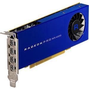 AMD 100-506008 Radeon Pro WX 4100 Graphic Card - 4 GB GDDR5 - PCIe x16 - LP