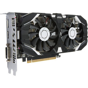 MSI GTX 1050 2GT OC GeForce GTX 1050 Graphic Card - 1.40 GHz Core - 2 GB GDDR5 - PCI-E 3.0 x16