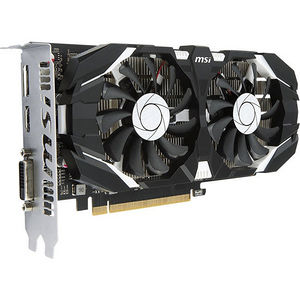 MSI GTX 1050 TI 4GT OC GeForce GTX 1050 Ti Graphic Card - 1.34 GHz Core - 4GB GDDR5 - PCI-E 3.0 x16