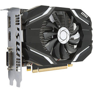 MSI GTX 1050 2G OC GeForce GTX 1050 Graphic Card - 1.40 GHz Core - 2 GB GDDR5 - PCI Express 3.0 x16