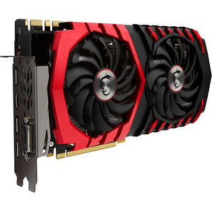 MSI GTX 1080 GAMING X 8G GeForce GTX 1080 Graphic Card - 1.71 GHz Core - 8GB GDDR5X - PCI-E 3.0 x16