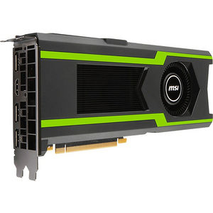 MSI GTX 1080 TI AERO 11G GeForce GTX 1080 Ti Graphic Card - 1.48 GHz Core - 11 GB GDDR5X