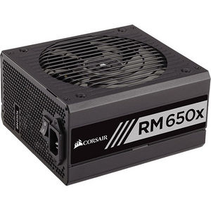 Corsair CP-9020091-NA RMx Series RM650x - 650 Watt 80 PLUS Gold Certified Fully Modular PSU