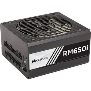 Corsair CP-9020081-NA RMi Series RM650i - 650 Watt 80 PLUS Gold Certified Fully Modular PSU