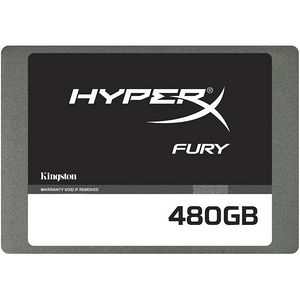 "Kingston SHFS37A/480G Hyperx FURY 480 GB Solid State Drive - SATA/600 - 2.5"" Drive - Internal"