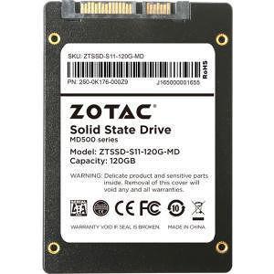 """ZOTAC ZTSSD-S11-120G-MD 120 GB Solid State Drive - SATA (SATA/600) - 2.5"""" Drive - Internal"""