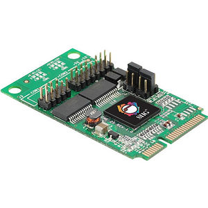 SIIG JJ-E20211-S1 2-Port RS232 Serial Mini PCIe with Power