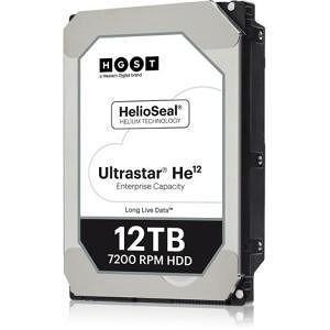 "HGST 0F29590 Ultrastar He12 512E ISE HUH721212ALE600 12 TB 3.5"" SATA 7200RPM 256MB Cache Hard Drive"