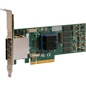 ATTO ESAS-R680-000 ExpressSAS RAID 8-Port External 6Gb SAS/SATA to x8 PCIe 2.0 Low Profile Adapter