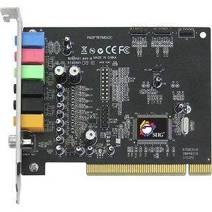 SIIG IC-710012-S2 SoundWave 7.1 PCI Sound Board