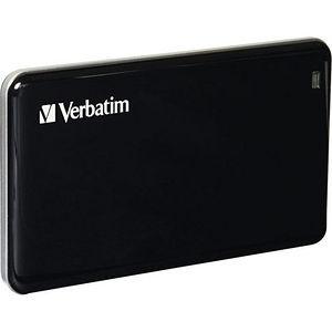 Verbatim 47623 256GB Store'n' Go External SSD, USB 3.0 - Black