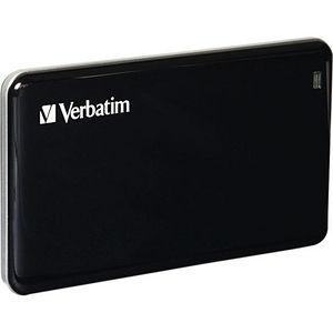Verbatim 47622 128GB Store 'n' Go External SSD, USB 3.0 - Black