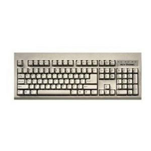 KeyTronic E06101USB-C 104 Key USB White Keyboard