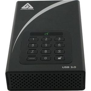 Apricorn ADT-3PL256-3000 Aegis Padlock DT 3 TB External Hard Drive