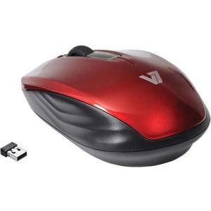 V7 MV3040-24G-RED-15NB Wireless Mobile Optical Mouse